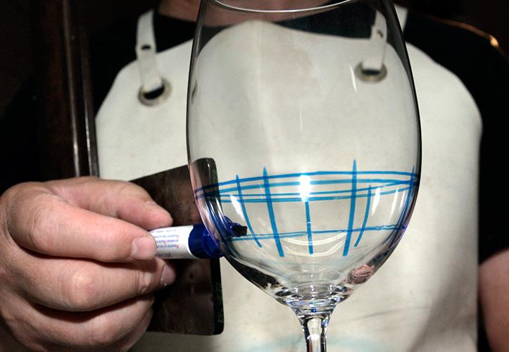 Paso 1: Marcado de la copa